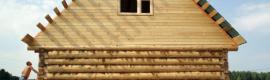 Псковский сруб домов из бревна