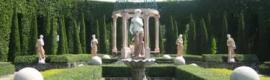 Малые архитектурные формы из камня. Фонтаны, статуи